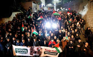 SARIYER'DE ABD PROTESTOSU