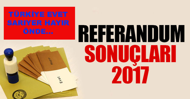 REFERANDUM'DA SON DURUM!